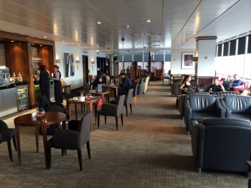 British Airways First lounge Gatwick