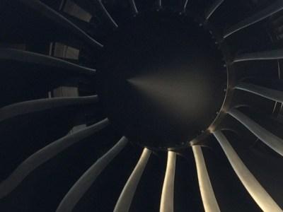 Qatar Airways 787 business class review - engine