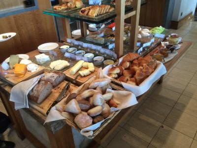 InterContinental Park Lane London lounge breakfast