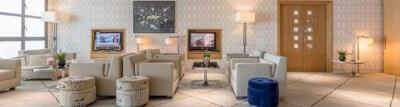 London City Airport Executive Lounge 2