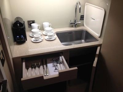 Nadler Hotel Victoria review - kitchen