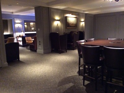 Review of InterContinental New York Barclay hotel club lounge