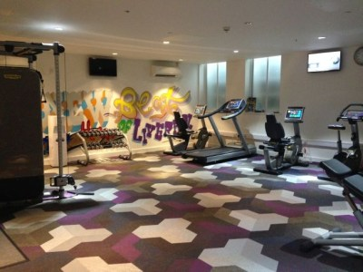 aloft liverpool hotel review gym
