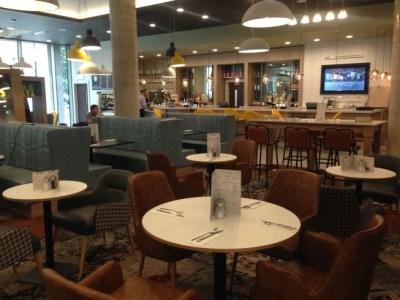 holiday inn manchester city centre review lounge restaurant bar