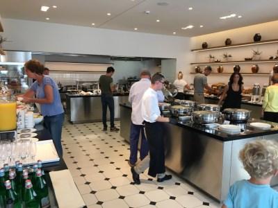 JW Marriott resort hotel Venice breakfast