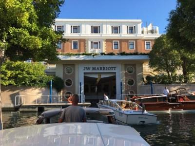 JW Marriott resort hotel Venice arrival