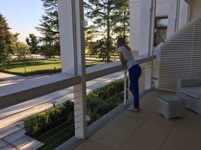 JW Marriott resort hotel Venice balcony