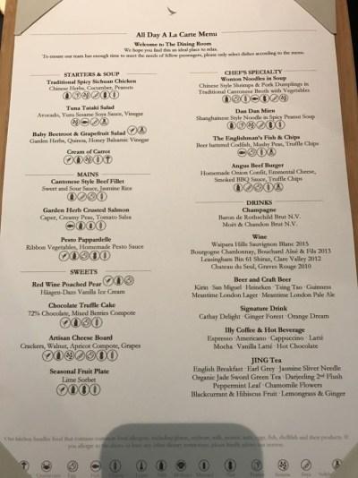 cathay-pacific-business-class-lounge-heathrow-terminal-3-restaurant-menu
