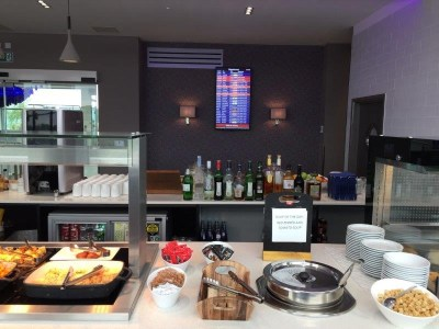 AspirePlus lounge Bristol Airport review