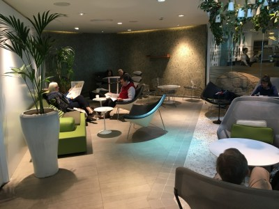 Review British Airways Speedbird Lounge Gatwick South
