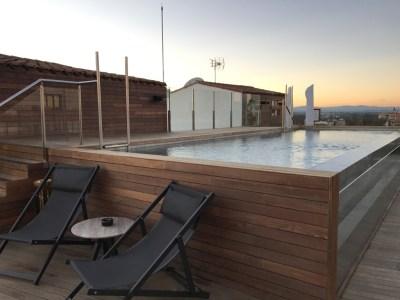 Gran Melia Palacio De Los Duques Madrid Rooftop Pool