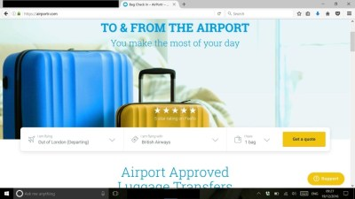 airportr to and from the airport luggage collection travel