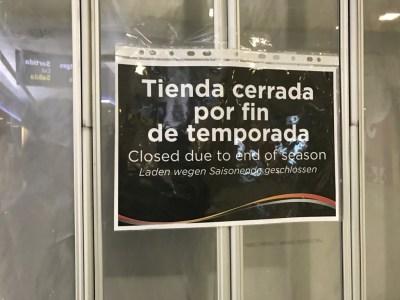sala lounge cap des falco aena vip ibiza airport closed for season