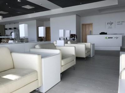 sala lounge cap des falco aena vip ibiza airport lounge seats