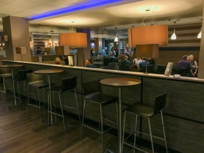 Aspire lounge Newcastle Airport seating