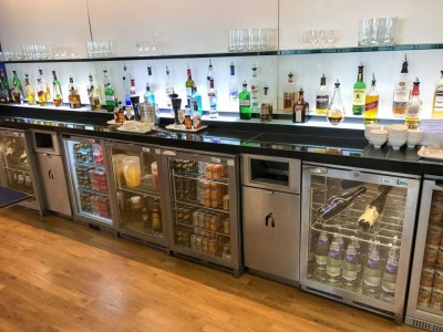 Review British Airways Terraces lounge newcastle alcohol