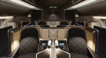 British Airways First Class middle pair
