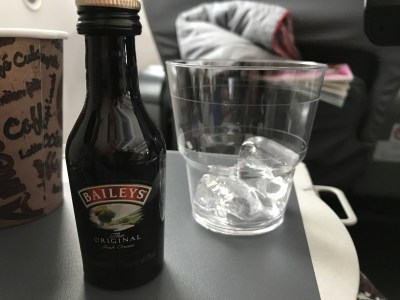 norwegian premium review - gatwick new york baileys