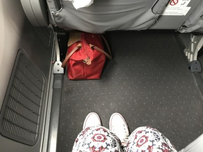 norwegian premium review - gatwick new york premium class legroom