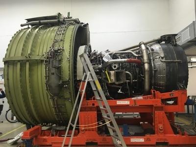Austrian Airlines maintenance hanger Visitair