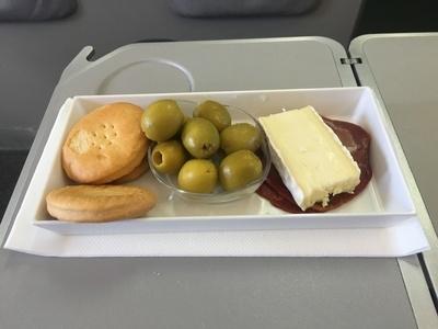 Iberia Express business class food review