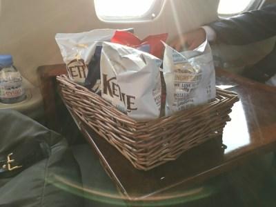 JetSmarter food