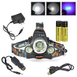 Boruit Purple UV Headlamp - Boruit Headlamp Reviews