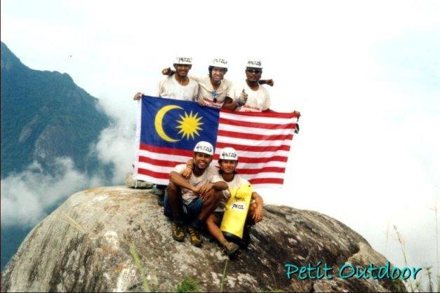 Malaysian Team Summit Waking Dream 2002