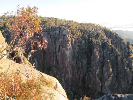 The Ozymandias buttress at Mont Buffalo - Australia