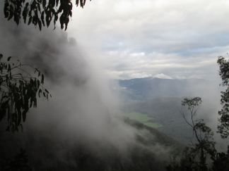 Rain and Mist over the gorge