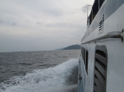On the ferry to Tioman 1