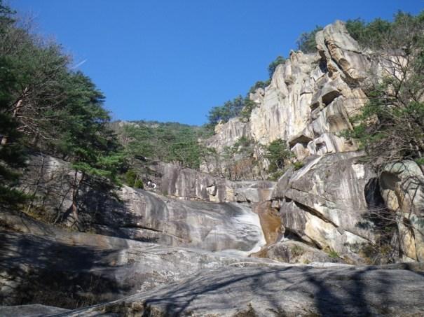 Mureung Valley near Donghae South Korea Rock Climbing
