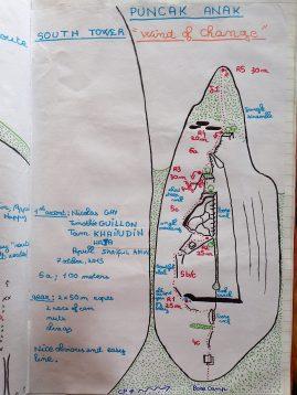 Tioman Rock Climbing - Puncak Anak - Bagus Tower