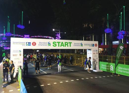 Singapore Marathon Start Orchard