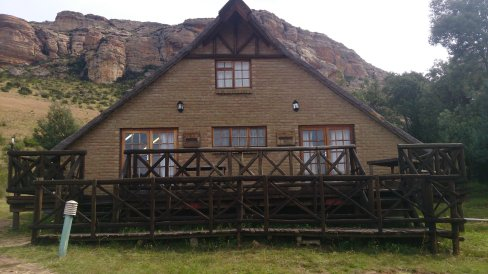 The lodge at Mont Everest Harrismith