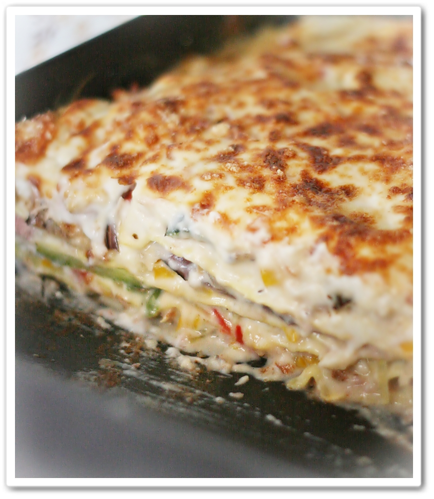 Vegetable Lasagne - Lasagna alle Verdure