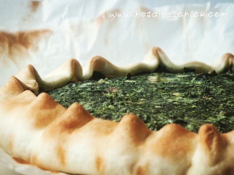 quiche spinaci e ricotta Spinach and Ricotta cheese Quiche
