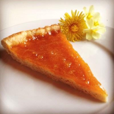 Vegan Apricot Jam Tart - Crostata di Frolla Vegana con Marmellata all'Albicocca - 5