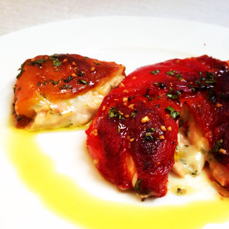 Roast Peppers Rolls - Involtini di Peperoni Arrostiti Ripieni di Stracchino di Latte di Riso e Affettato Vegan - 6