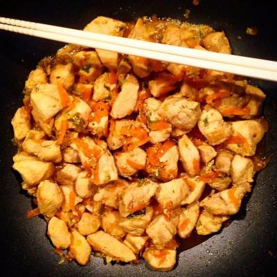 Spezzatino di pollo alle verdure