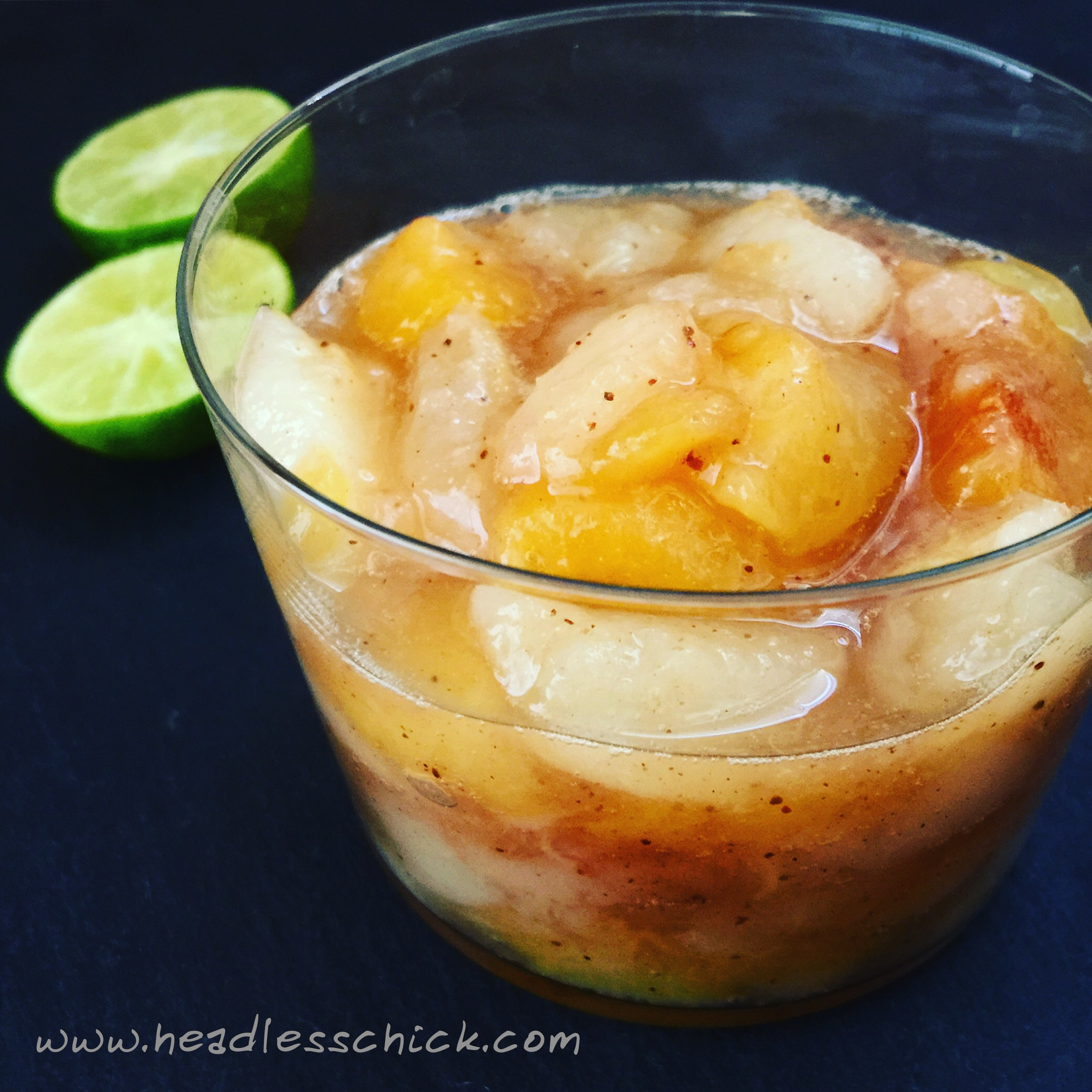 Four Spices Pear and Plum Compote