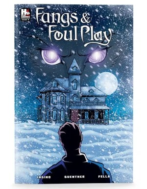 Fangs & Foul Play Issue 0 Cover