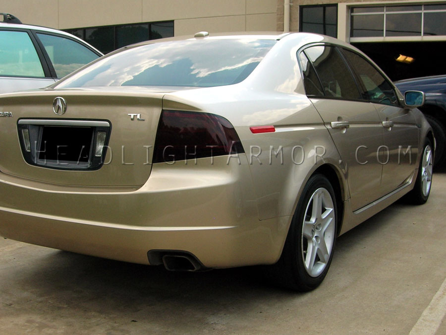 04 06 acura tl smoked taillight and side mkr kit 6 piece kit
