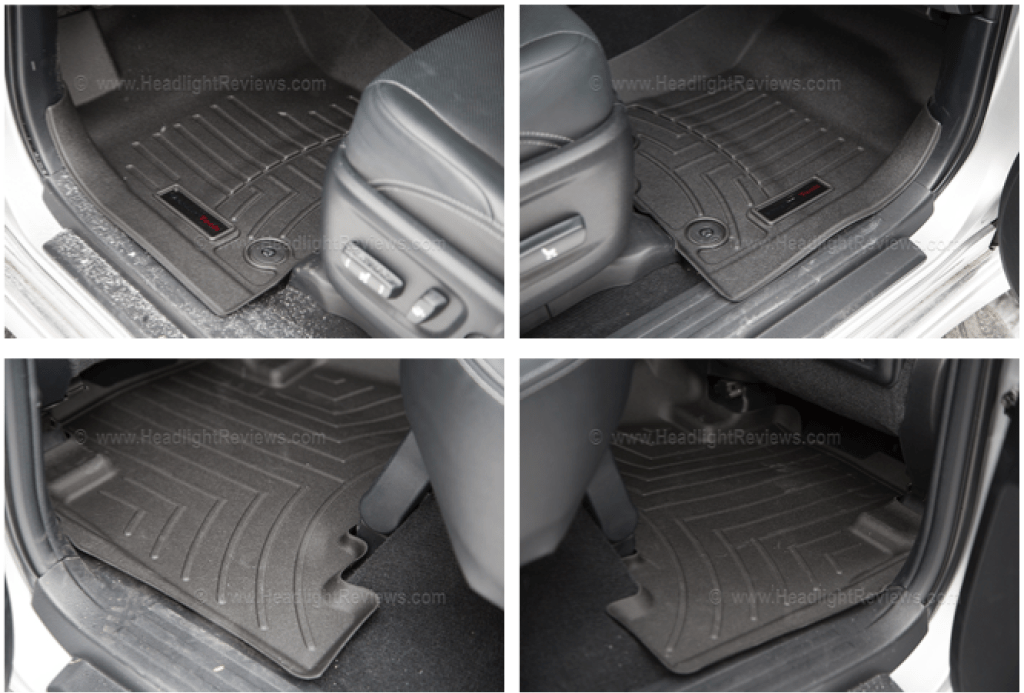 WeatherTech Floor Mats Installed