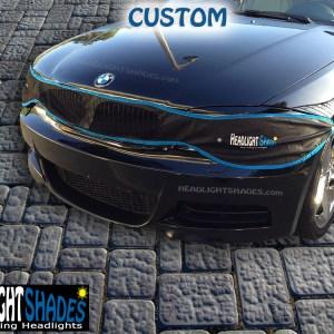 BMW HeadlightShades 1M 135i 128i E82 E83 E88