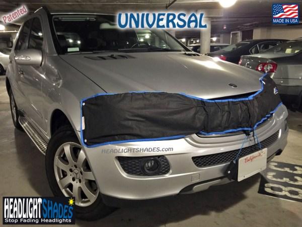 Universal Headlight Shades Mercedes