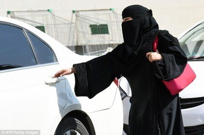 women drivers are banned