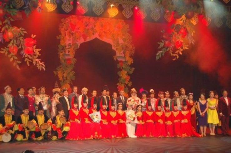 Image result for Xinjiang Art Theater Song