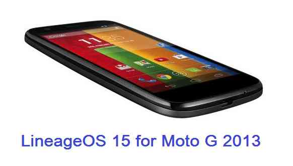 How to install Android Oreo on Moto G 2013 based on