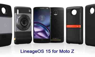 install Android Oreo on Moto Z